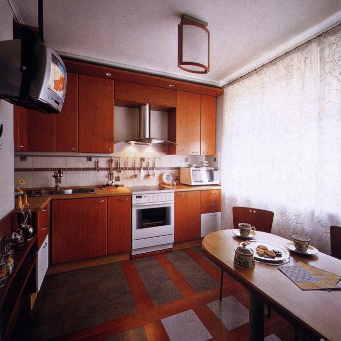 Квартира. кухня из проекта , фото №1022