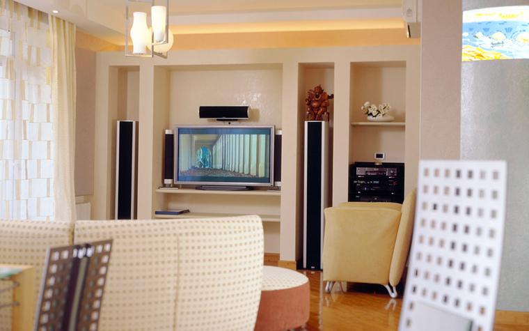 Квартира. гостиная из проекта , фото №1041