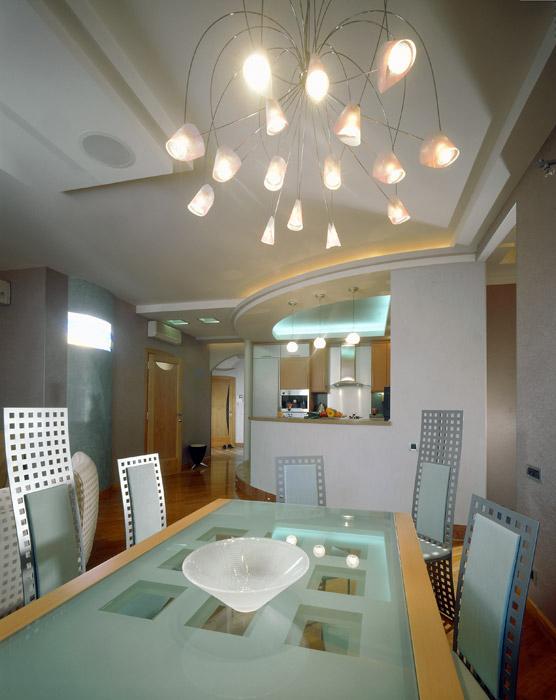 Квартира. столовая из проекта , фото №1045