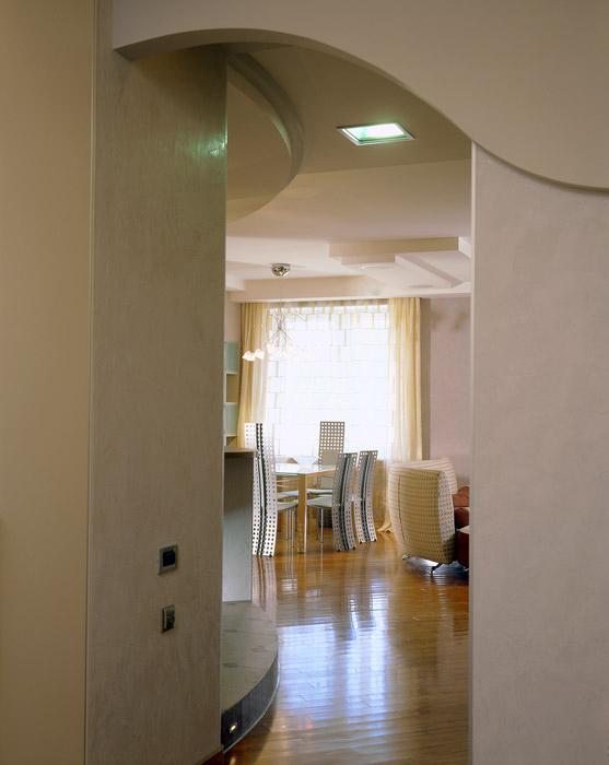 Квартира. столовая из проекта , фото №1046