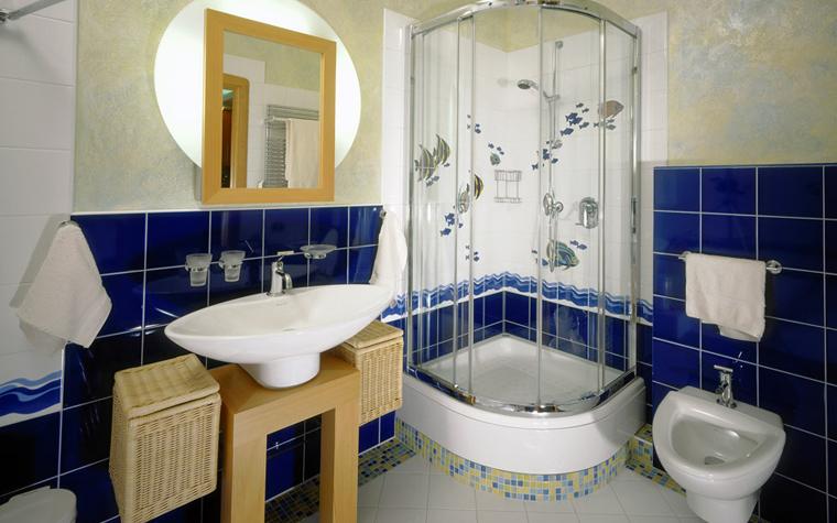 Квартира. ванная из проекта , фото №1047