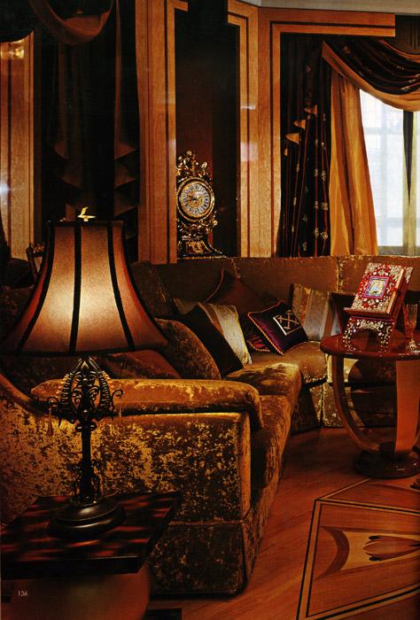 интерьер гостиной - фото № 1049