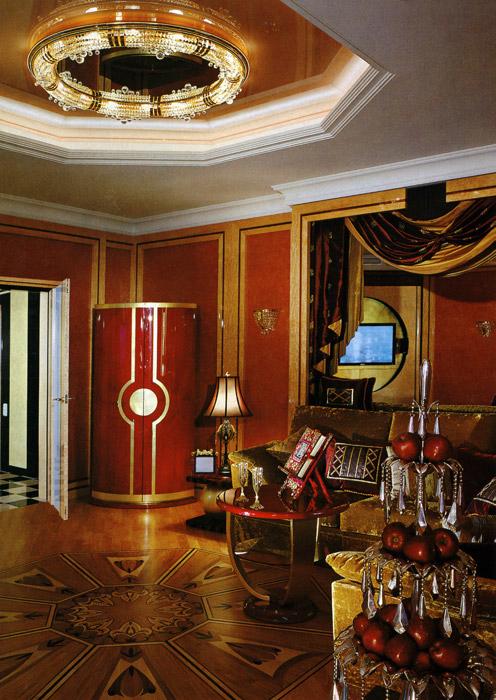 интерьер гостиной - фото № 1051