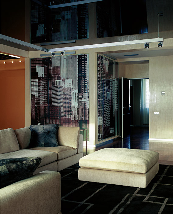 Квартира. гостиная из проекта , фото №1291