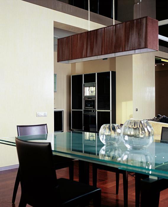 Квартира. столовая из проекта , фото №1292
