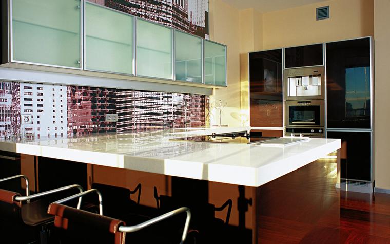 Квартира. кухня из проекта , фото №1286