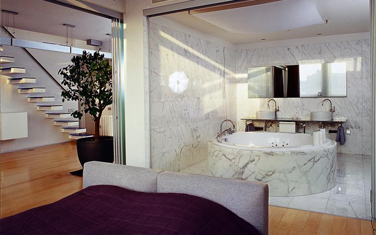 Квартира. спальня из проекта , фото №1319