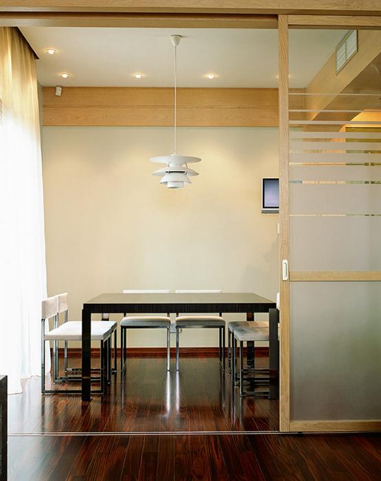 Квартира. столовая из проекта , фото №1860