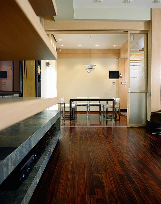 Квартира. столовая из проекта , фото №1861