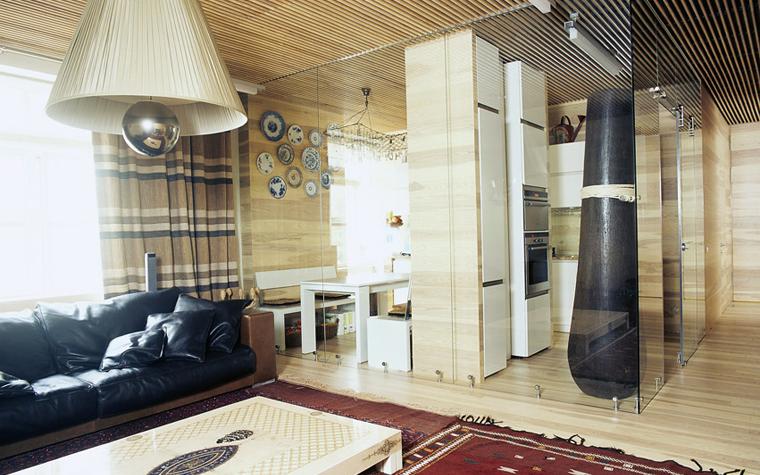 Квартира. гостиная из проекта , фото №6027