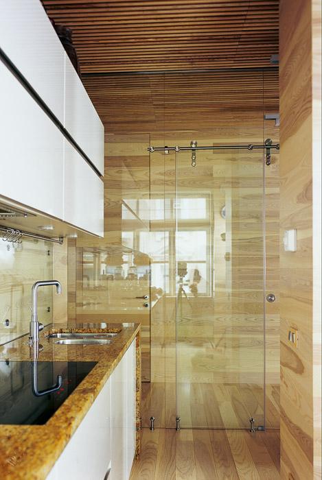 Квартира. кухня из проекта , фото №6029