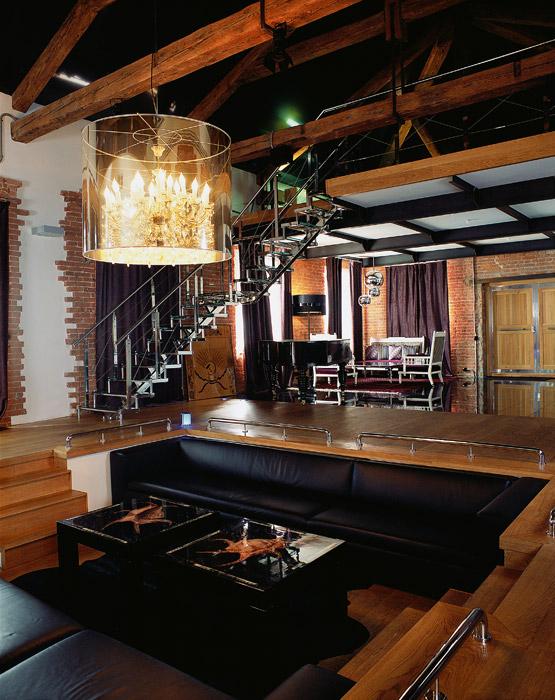 интерьер гостиной - фото № 1544