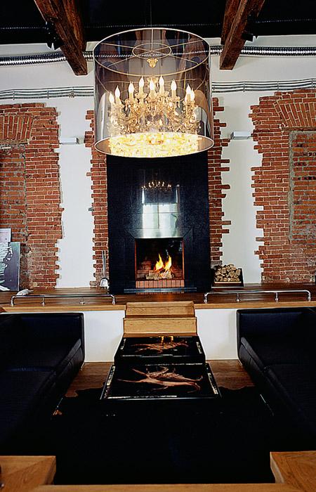 интерьер гостиной - фото № 1545