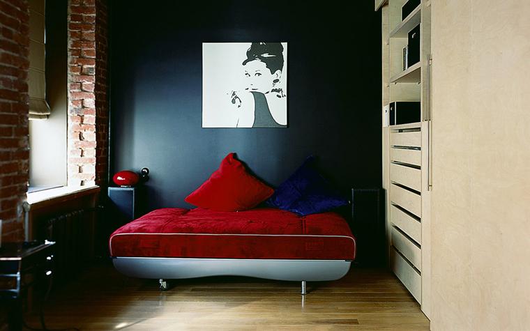 интерьер спальни - фото № 1569