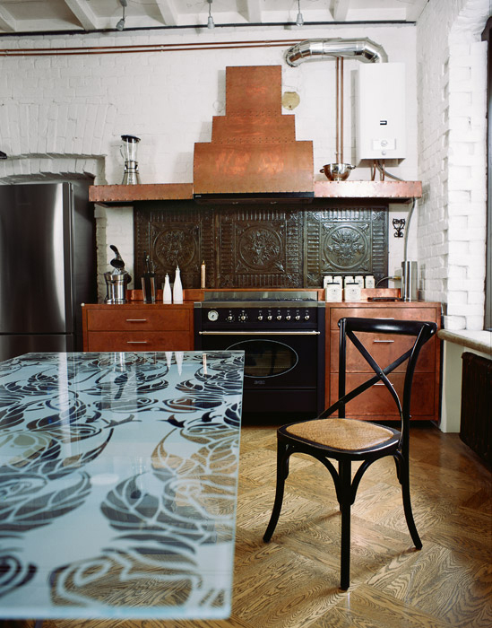 интерьер кухни - фото № 1564
