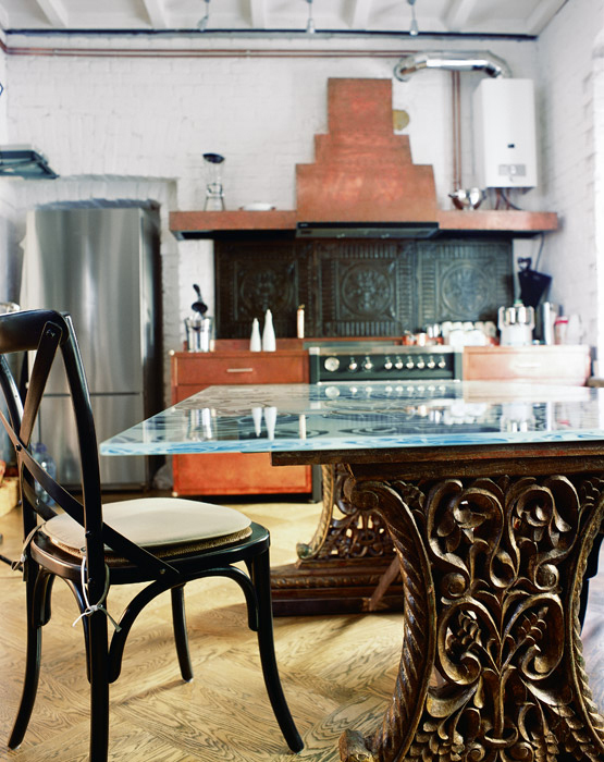 интерьер кухни - фото № 1565