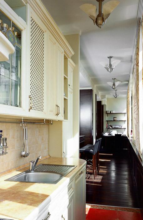 Квартира. кухня из проекта , фото №1578