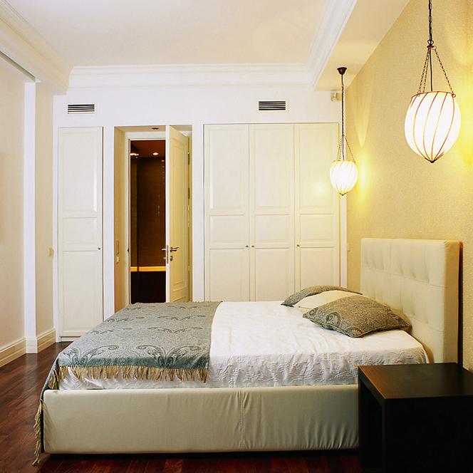 Квартира. спальня из проекта , фото №7037