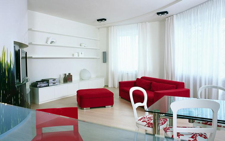 Квартира. гостиная из проекта , фото №1604