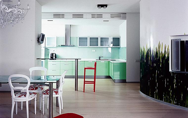 Квартира. гостиная из проекта , фото №1607