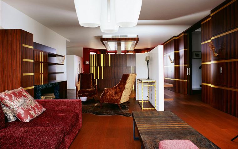 Квартира. гостиная из проекта , фото №1618