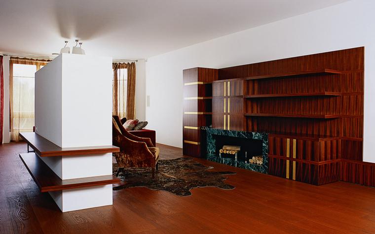 Квартира. гостиная из проекта , фото №1619