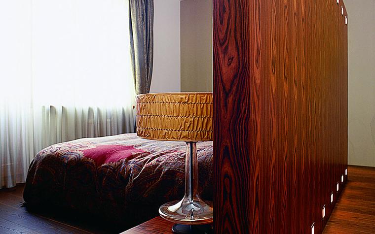 Квартира. спальня из проекта , фото №1624