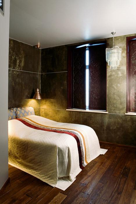 Квартира. спальня из проекта , фото №1626