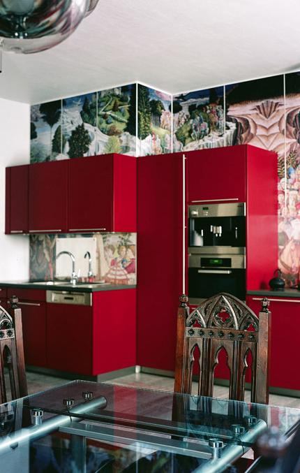 Квартира. кухня из проекта , фото №1628