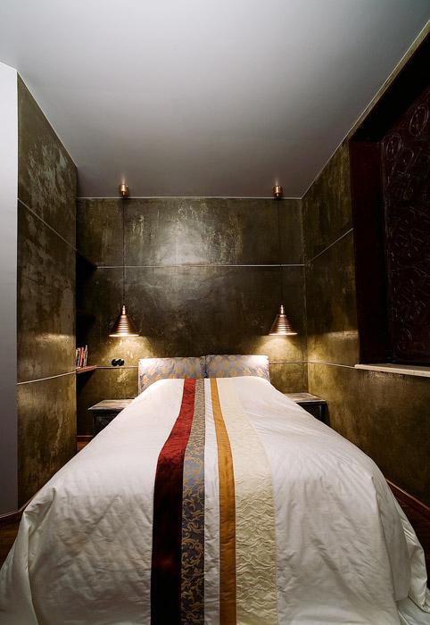 Квартира. спальня из проекта , фото №1627