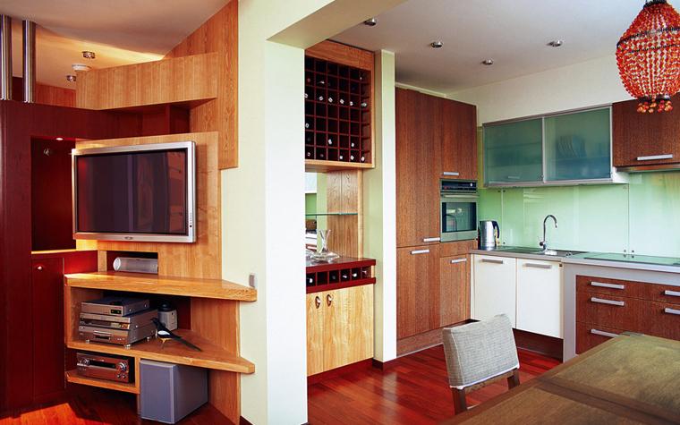 Квартира. кухня из проекта , фото №1644