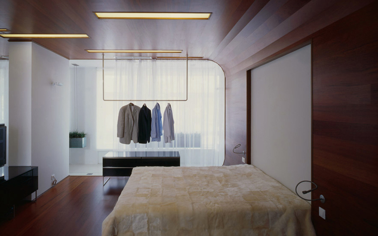 Квартира. спальня из проекта , фото №5115