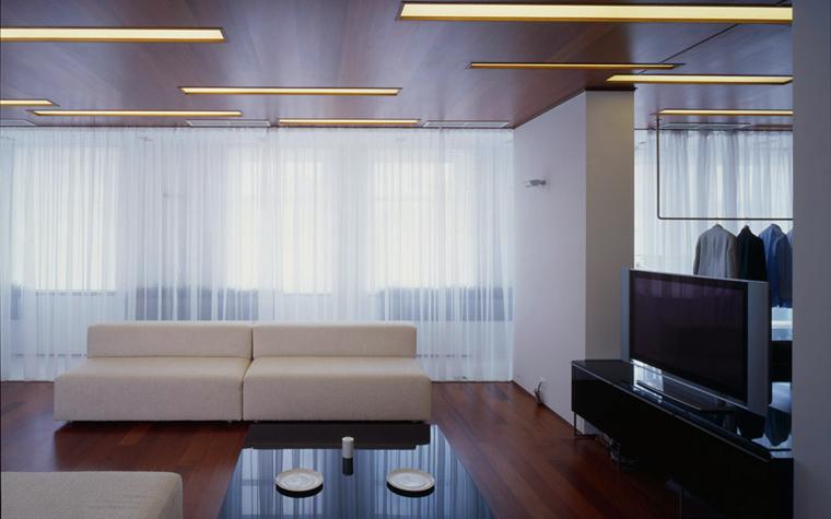 Квартира. гостиная из проекта , фото №5126