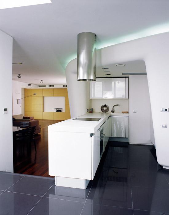 Квартира. кухня из проекта , фото №12429