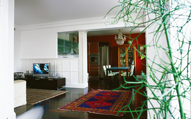 Квартира. гостиная из проекта , фото №1696