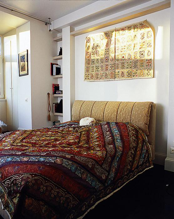 Квартира. спальня из проекта , фото №1703