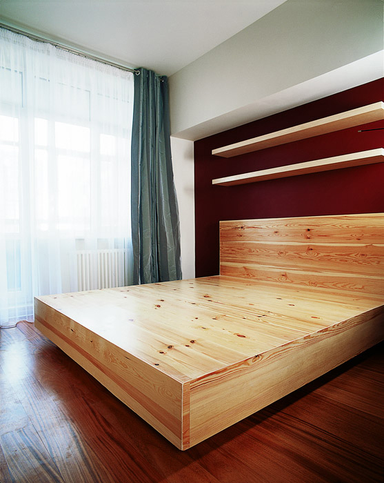 Квартира. спальня из проекта , фото №1741
