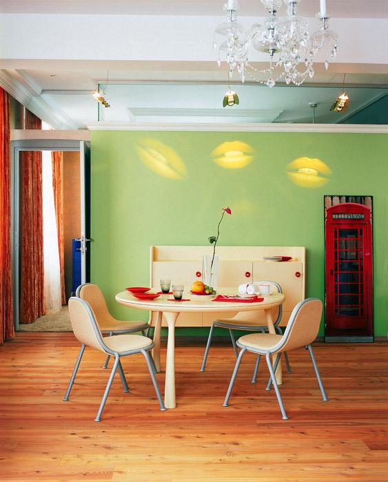 Квартира. столовая из проекта , фото №1756