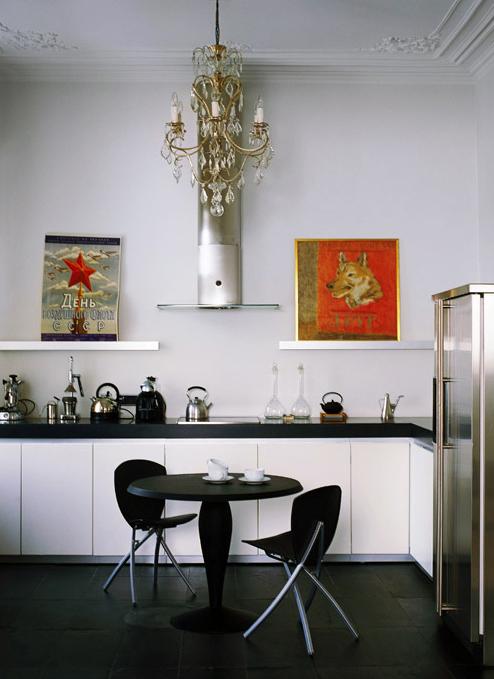 Квартира. кухня из проекта , фото №1825
