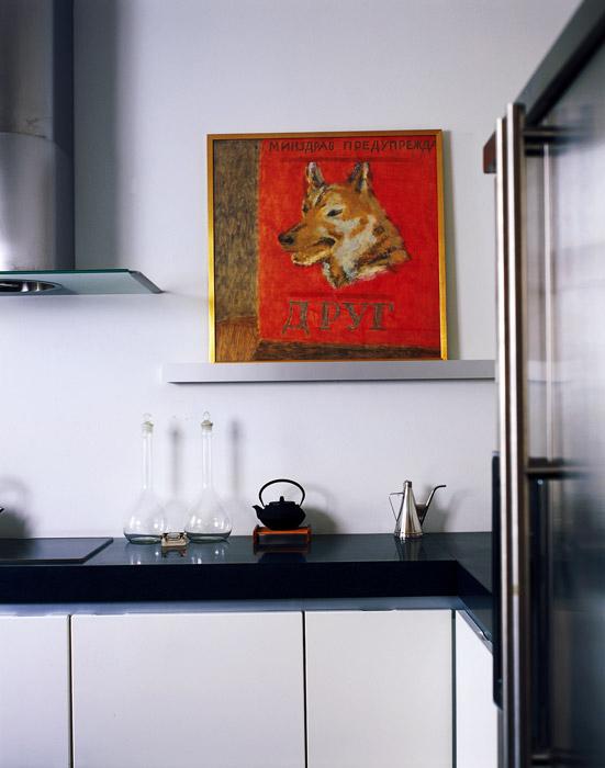 Квартира. кухня из проекта , фото №1828