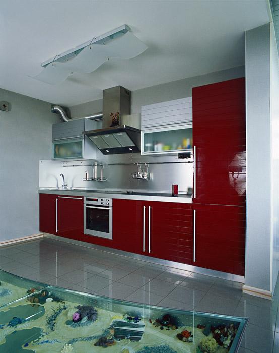 Квартира. кухня из проекта , фото №15076
