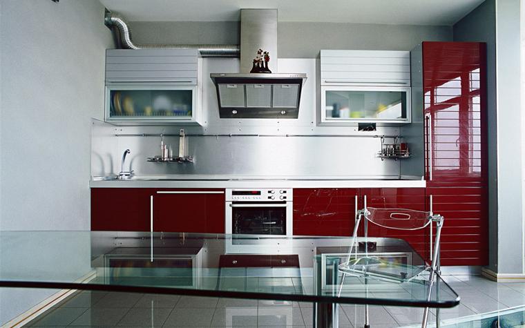 Квартира. кухня из проекта , фото №1829