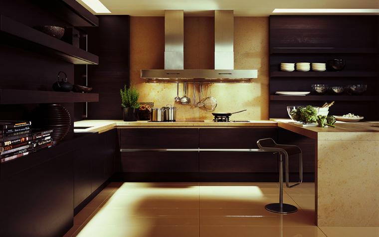 Квартира. кухня из проекта , фото №2329