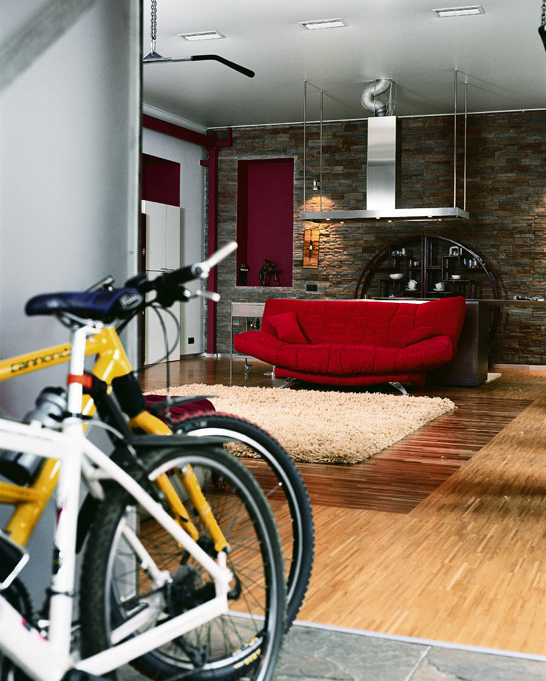 Квартира. гостиная из проекта , фото №1843
