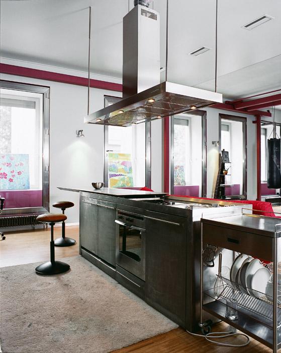 Квартира. кухня из проекта , фото №1847