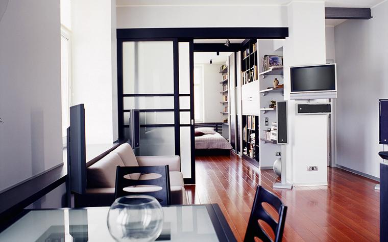 Квартира. гостиная из проекта , фото №1854