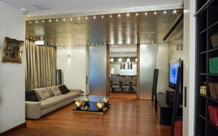 Квартира. гостиная из проекта , фото №1951