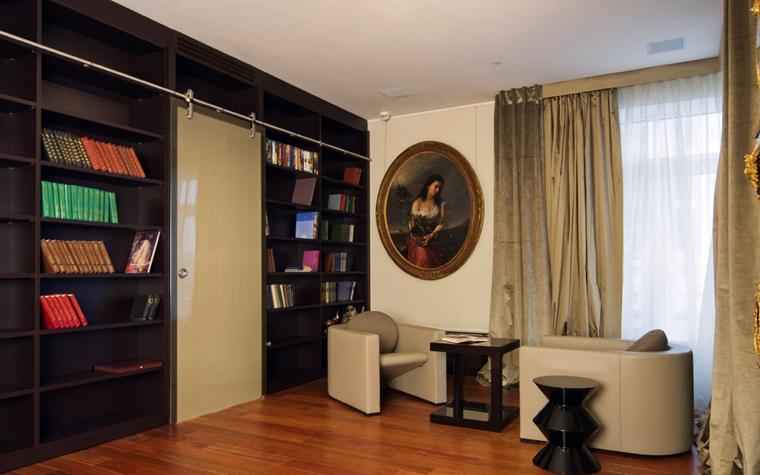 Квартира. гостиная из проекта , фото №1955