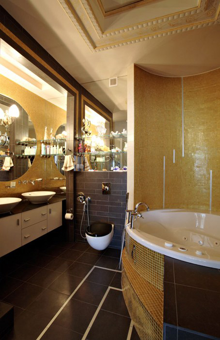 Квартира. ванная из проекта , фото №7051