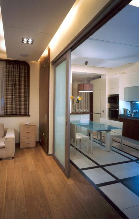 Квартира. кухня из проекта , фото №1995